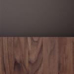 Oiled Walnut w. Cacao Orinoco 0749 Fenix Laminate & Brass